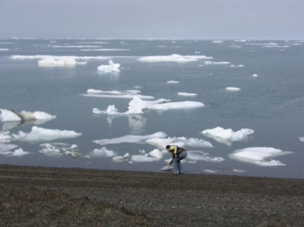 The Arctic Ocean at Ukpiagvik (Barrow), Alaska